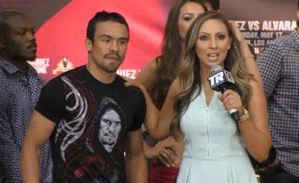 Juan Manuel Marquez Marquez vs. Alvarado Mike Alvarado Boxing News Top Stories Boxing