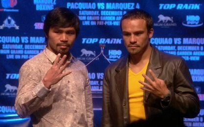 Juan Manuel Marquez Manny Pacquiao Pacquiao vs. Marquez 5 Boxing News Top Stories Boxing