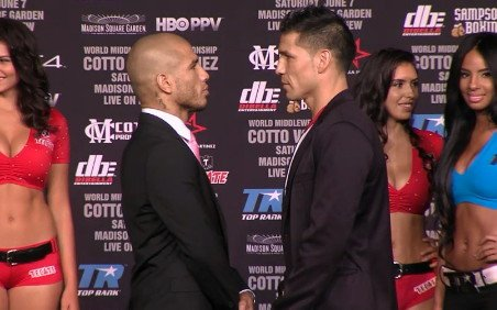Cotto & Martinez Press Conference Quotes