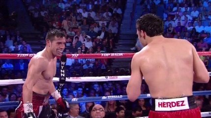 Chavez Jr. vs. Martinez - By Michael Collins: Lou Dibella, the promoter for WBC middleweight champion Sergio Martinez, feels that the sport of boxing needs a rematch between Martinez and former WBC middleweight champion Julio Cesar Chavez Jr. after last night's one-sided 12 round decision win by the 37-year-old Martinez over Chavez Jr. at the Thomas & Mack Center in Las, Nevada.