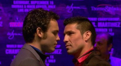 Julio Cesar Chavez Jr. Martinez vs Chavez Jr Sergio Martinez Boxing News