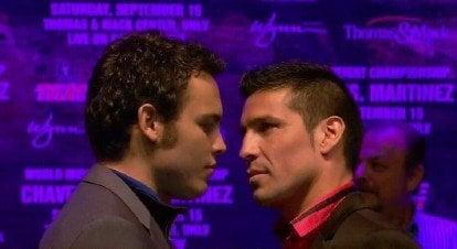 Julio Cesar Chavez Jr. Sergio Martinez Boxing News