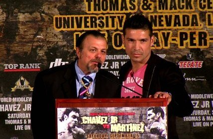 Chavez Jr-Martinez Chavez Jr. vs. Martinez Julio Cesar Chavez Jr. Sergio Martinez Boxing News Top Stories Boxing