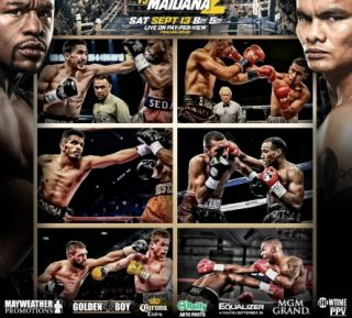 """- LAS VEGAS (August 14, 2014) - In keeping with Mexican Independence Day tradition, Mayweather Promotions has assembled a stellar undercard featuring some of this era's most exciting boxers to co-feature on """"MAYHEM: Mayweather vs. Maidana 2"""" on Saturday,September 13 from the MGM Grand Garden Arena live on SHOWTIME PPV."""