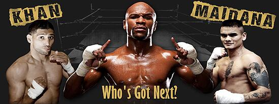 Is Mayweather's Khan-Maidana poll a way of taking heat off of him when he selects Khan as his next opponent?