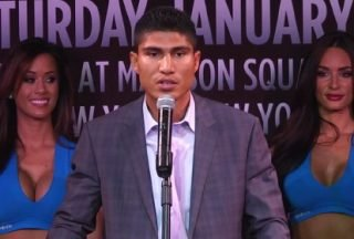 Manny Pacquiao, Mikey Garcia - Much has been said of late about the plans laid out by Top Rank C.E.O. Bob Arum for Mikey Garcia's in 2014.  All signs point to Yuriorkis Gamboa as the next opponent for Mikey on May 17 according to widely reported stories from Bob Arum and just today 50 cent was on twitter saying it's basically a done deal.