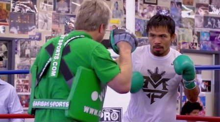Pacquiao: After Algieri fight, we can talk about Mayweather
