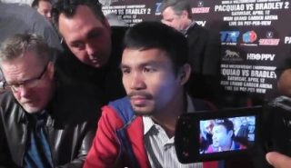 """Manny Pacquiao - Imagine the day that would come after the long-promised Mayweather-Pacquiao fight. Everyone thinks this hypothetical bout would """"save boxing"""" and make it relevant again. What would that mean, exactly?"""