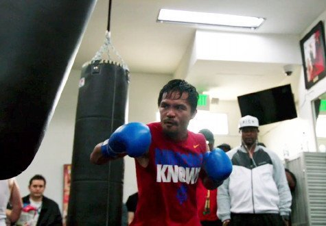 "Pacquiao: ""I hope, this time he would be man enough to take some risks"""