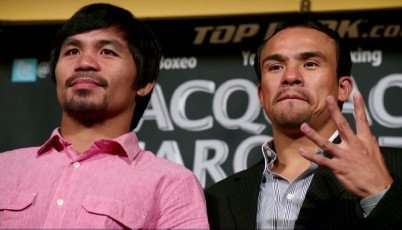 Juan Manuel Marquez Manny Pacquiao Pacquiao vs. Marquez IV Boxing News Top Stories Boxing