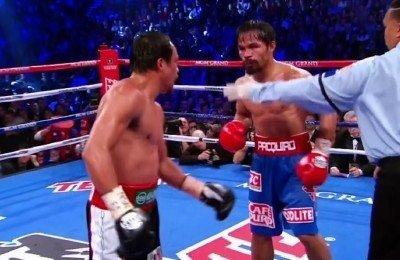 "Juan Manuel Marquez, Manny Pacquiao, Pacquiao vs. Marquez 4 - By ""Old Yank"" Schneider"