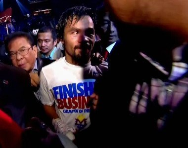 Manny Pacquiao to fight twice in 2015