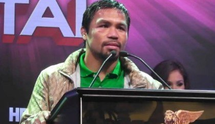 Manny Pacquiao Mayweather vs. Pacquiao Boxing News Top Stories Boxing