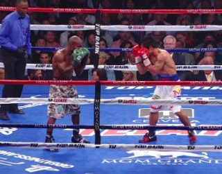 "Pacquiao vs. Bradley 2 - Many boxing fans were calling for Manny ""Pac Man"" Pacquiao to retire since he was 35 years old and coming off two losses in his last three bouts, yet he proved a great deal of them wrong as he demonstrated that he`s still one of the best fighters in the world in defeating, top ten pound for pound boxer, Timothy ""Desert Storm"" Bradley, en route to a twelve round unanimous decision. His speed, power and aggressiveness was too much for Bradley, especially in the last six rounds of this matchup."