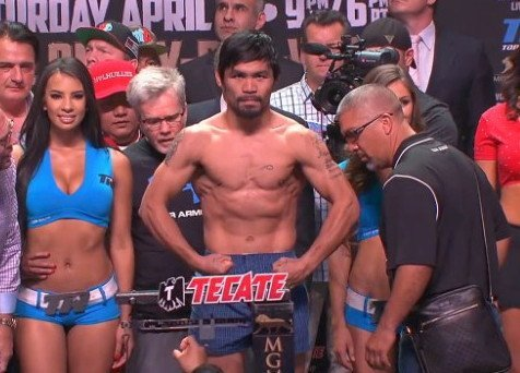 Manny Pacquiao Cashes In His Chips In Las Vegas