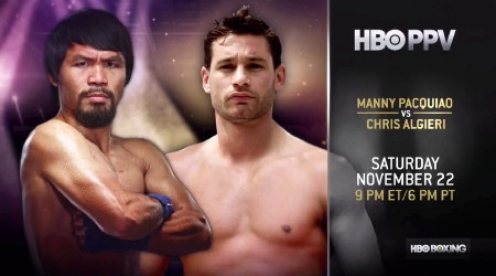 Pacquiao vs. Algieri - The place is Macau. A PPV perceived mismatch eerily similar to Manny's last trip in China. Will Pacquiao pick up where he left off last November when he white-washed face-first mauler Brandon Rios? Or will the upstart Chris Algieri do the unthinkable halfway across the globe?