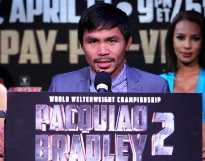 Pacquiao says he plans on being more aggressive against Bradley