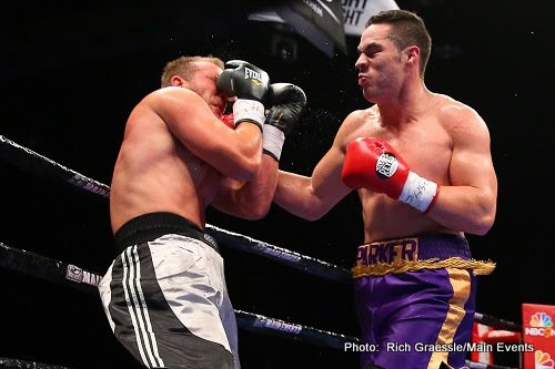 Joseph Parker wants the winner of Joshua-Martin