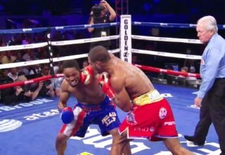 Brook vs. Porter - Shawn Porter (24-1-1, 15 KOs) lost his IBF welterweight title last night in losing by a 12 round majority decision to visiting fighter Kell Brook (33-0, 22 KOs) at the StubHub Center in Carson, California.