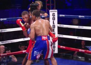 Brook vs. Porter - WBA welterweight champion Keith Thurman says that Britain's Kell Brook (33-0, 22 KOs) got outworked last night by IBF welterweight champion Shawn Porter (24-1-1, 15 KOs) through the entire 12 round bout at the StubHub Center in Carson, California.