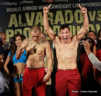 Banner Promotions Mike Alvarado Ruslan Provodnikov Top Rank Boxing Boxing News Top Stories Boxing