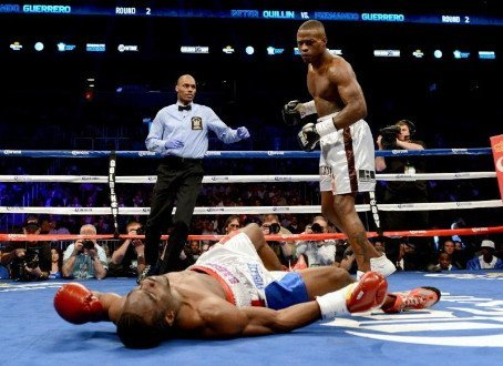 Peter 'Kid Chocolate' Quillin fighting for respect Saturday on SHOWTIME