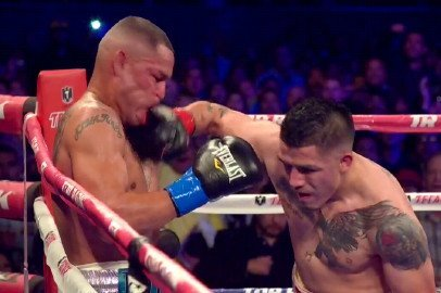 "Brandon Rios - By Paul Strauss: It's almost unfair.  Brandon ""Bam Bam"" Rios not only is heavy handed, he's also iron jawed.  Mike ""Mile HIgh"" Alvarado hit him bunches of times with shots that would have put lesser fighters in la la land.  Yet each time Rios got nailed, he would hardly take a step back, and instead would jump right back in Mike's face.   Alvarado tried to mimic him, and to many, including unofficial score keeper Harold Lederman, Mile High was being successful at the Home Depot Center, Carson, CA."