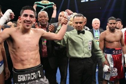 Cesar Seda Leo Santa Cruz Boxing News Boxing Results Top Stories Boxing
