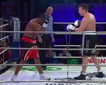 Leif Larsen Odlanier Solis Solis vs. Larsen Boxing Results Top Stories Boxing
