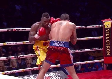 "Adonis Stevenson - By Joseph Herron - After becoming the mandatory IBF title challenger by knocking out Super Middleweight contender Don ""Da Bomb"" George on October 12th at the Bell Centre in Montreal, Quebec, Canada,  Adonis ""Superman"" Stevenson (19-1, 16 KOs) is ready to take on the best at 168 according the his friend and trainer Javan ""Sugar"" Hill."