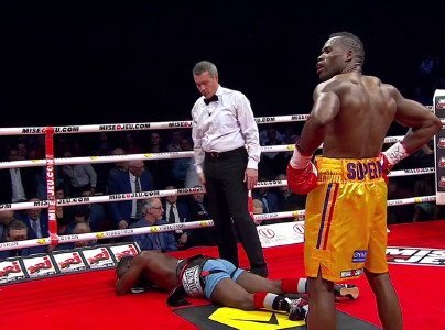 Adonis Stevenson Stevenson vs. Cloud Tavoris Cloud Boxing News Top Stories Boxing