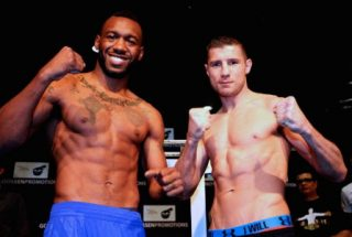 Daniel Dawson - (Photo credit: Goosen Promotions) Former WBA 154 pound champion Austin Trout (26-2, 14 KOs) successfully weighed in on Thursday for his fight on Friday night against #15 WBA Daniel Dawson (40-3-1, 26 KOs) at the Pechanga Resort & Casino, in Temecula, California, USA. The 36-year-old Dawson also weighed in at 154 pounds and looked in good shape.