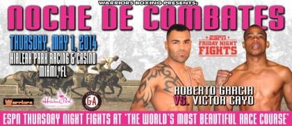 Roberto Garcia Boxing News
