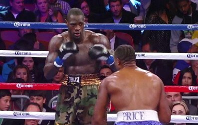 Wilder getting tips in how to beat Stiverne