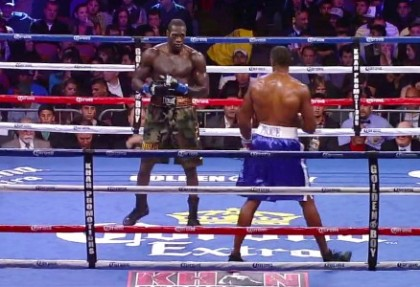 Audley Harrison Deontay Wilder Wilder vs. Harrison Boxing News British Boxing