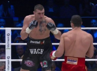 Klitschko vs. Wach Mariusz Wach Wladimir Klitschko Boxing News Boxing Results Top Stories Boxing