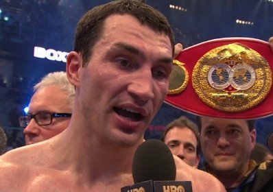 Fres Oquendo Wladimir Klitschko Boxing News Top Stories Boxing